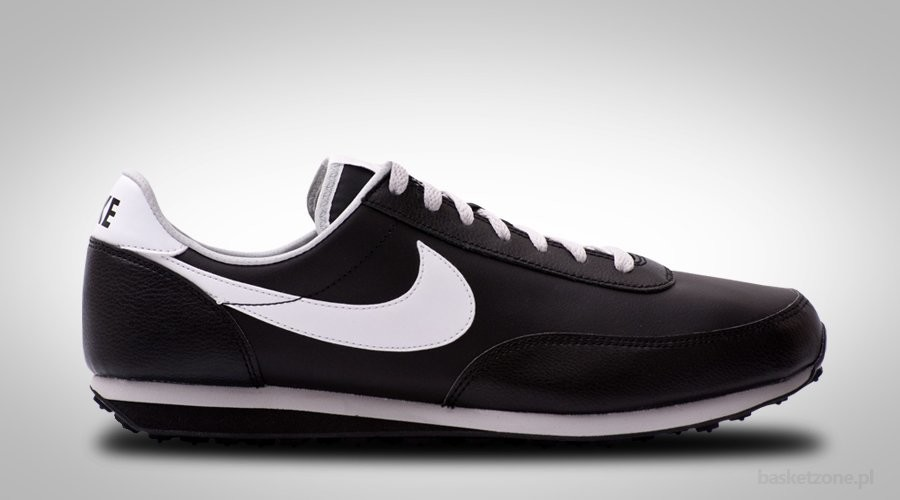 NIKE RETRO ELITE RUNNER BLACK LEATHER