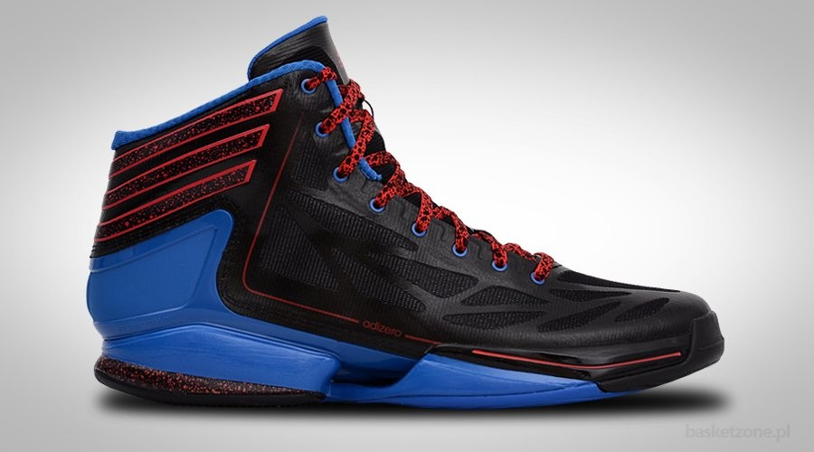 ADIDAS ADIZERO CRAZY LIGHT 2 Black Blue Red Amazing Pictures