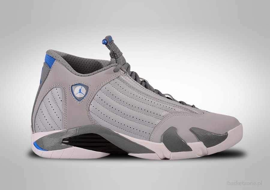 232e1dbe4834 NIKE AIR JORDAN 14 RETRO WOLF GREY SPORT BLUE price €185.00 ...