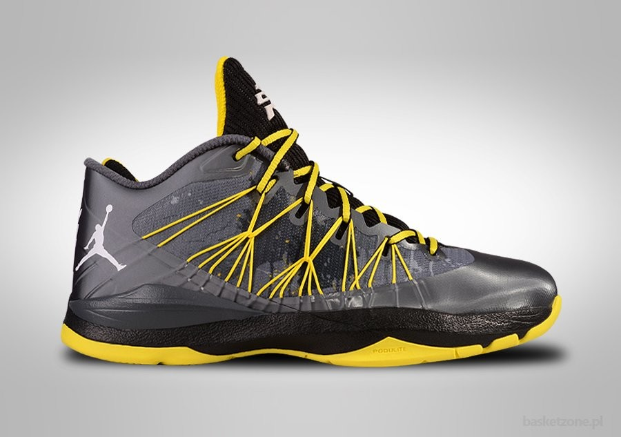 sale retailer fdcab 0b129 VIII NIKE AIR JORDAN CP3.VII DARK GREY VIBRANT YELLOW ...