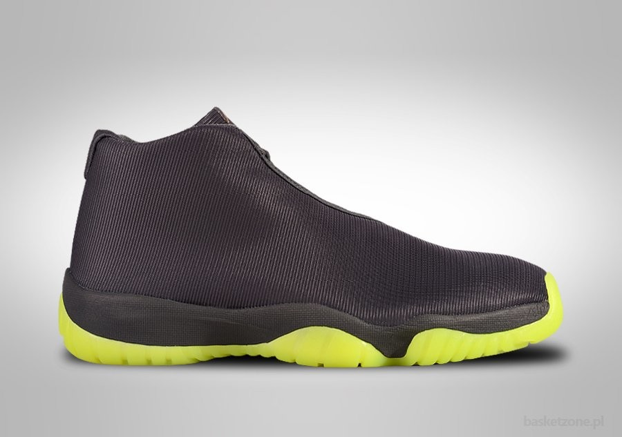 official photos d9b1b 323a4 NIKE AIR JORDAN FUTURE DARK GREY VOLT