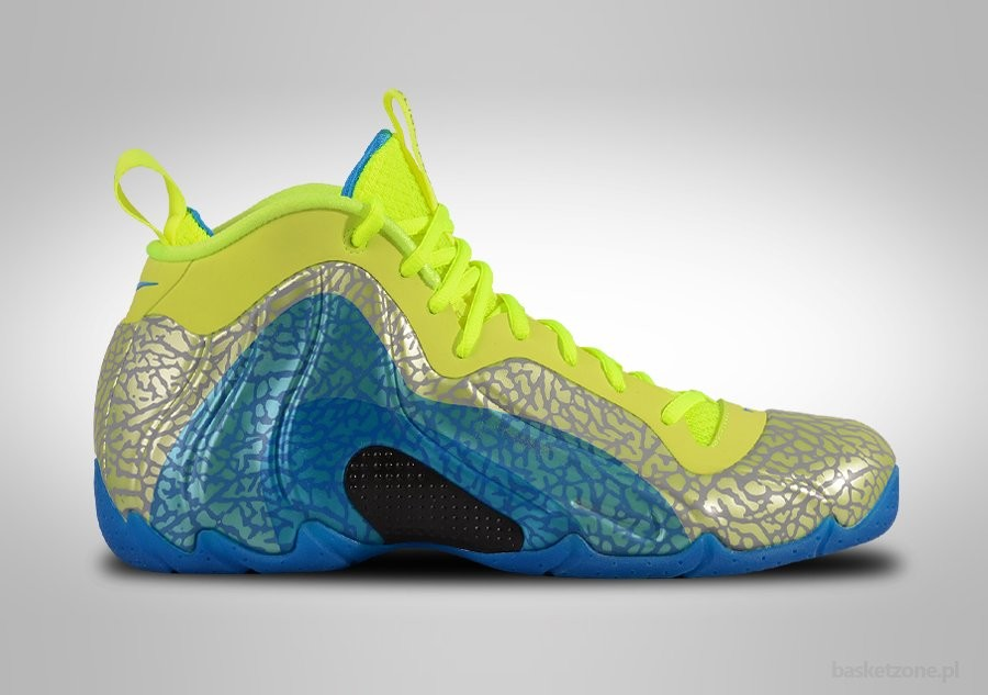NIKE AIR FLIGHTPOSITE EXPOSED VOLT PHOTO BLUE