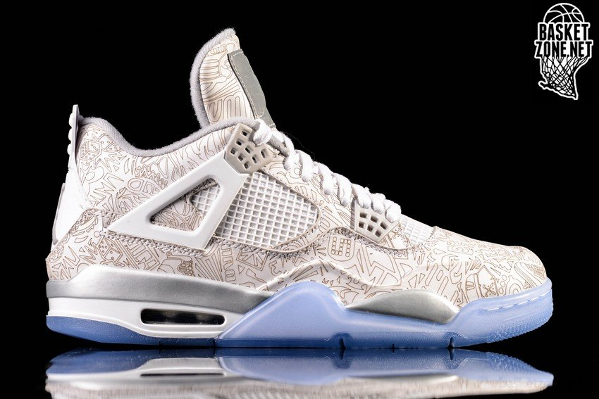 timeless design ad310 97676 NIKE AIR JORDAN 4 RETRO LASER 30TH ANNIVERSARY