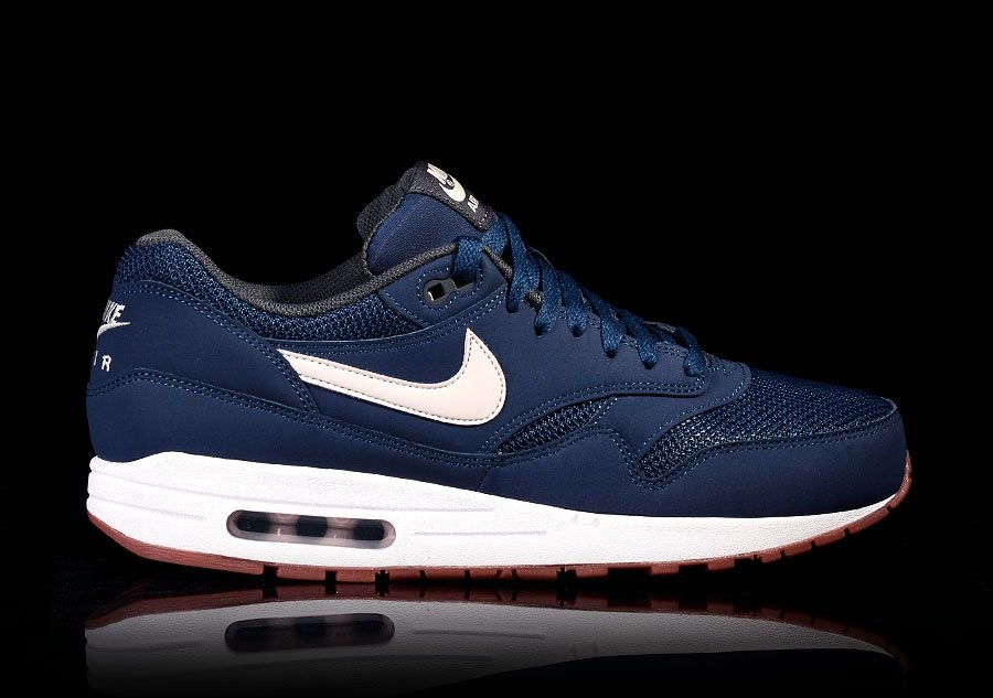 outlet store 4cd68 3afb6 ... best price nike air max 1 essential navy light bone bcf9c 913fb